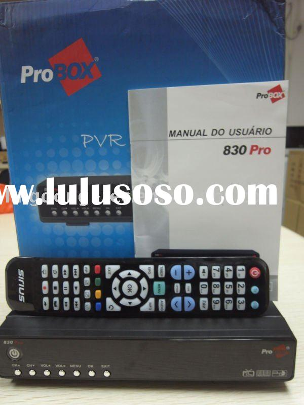 2011 new digital satellite receiver of South America ---ProBox 830 Pro