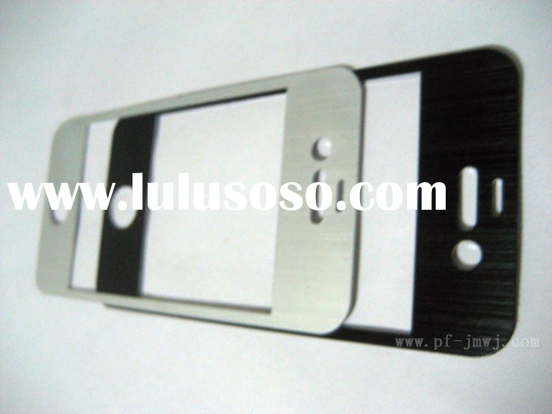 2011 new!!! wholesale price metal cell phone accessory for iphone 4G mobile phone +high quality+fast