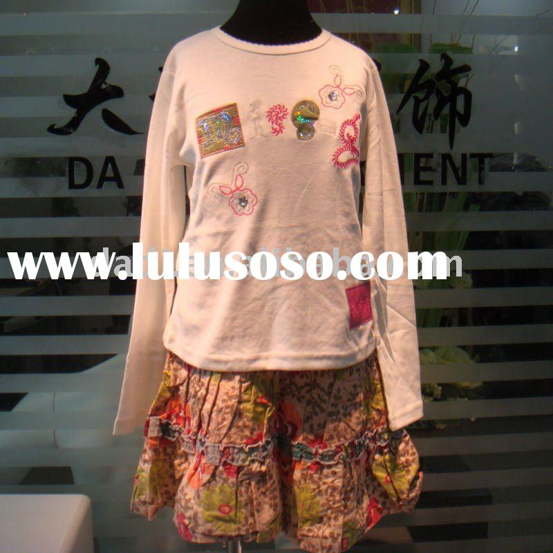 2011 newest fashion branded clothing stocklots