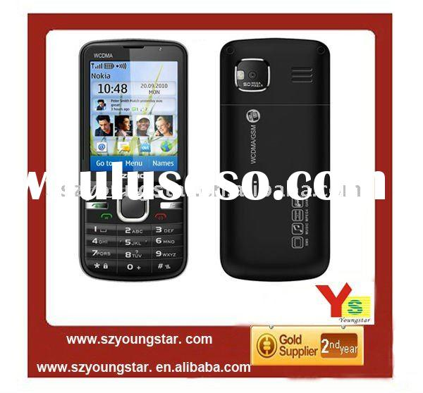 2012 Cheapest 2.4'' dual sim cards 3G WCDMA+GSM Video call mobile phone W306