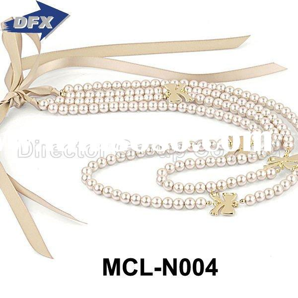 2012 Costume Charm Antique Beads Jewelry Design Pearl Fashion Necklace