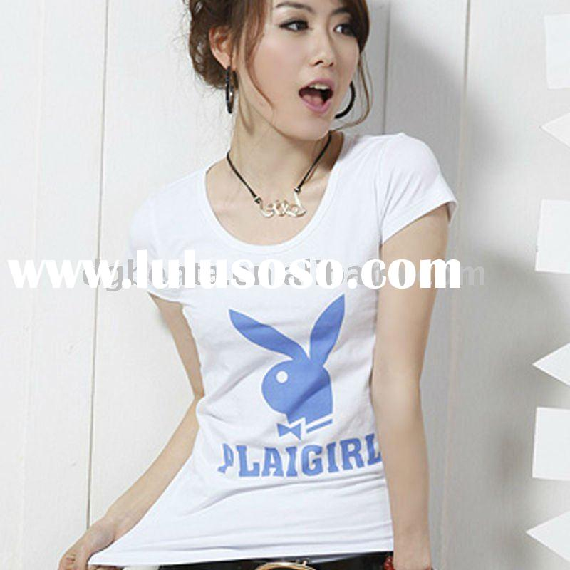 2012 Hot Selling Fashion design Woman Nice T shirts