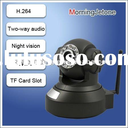 2012 New H.264 compression plug and play wifi ip security camera