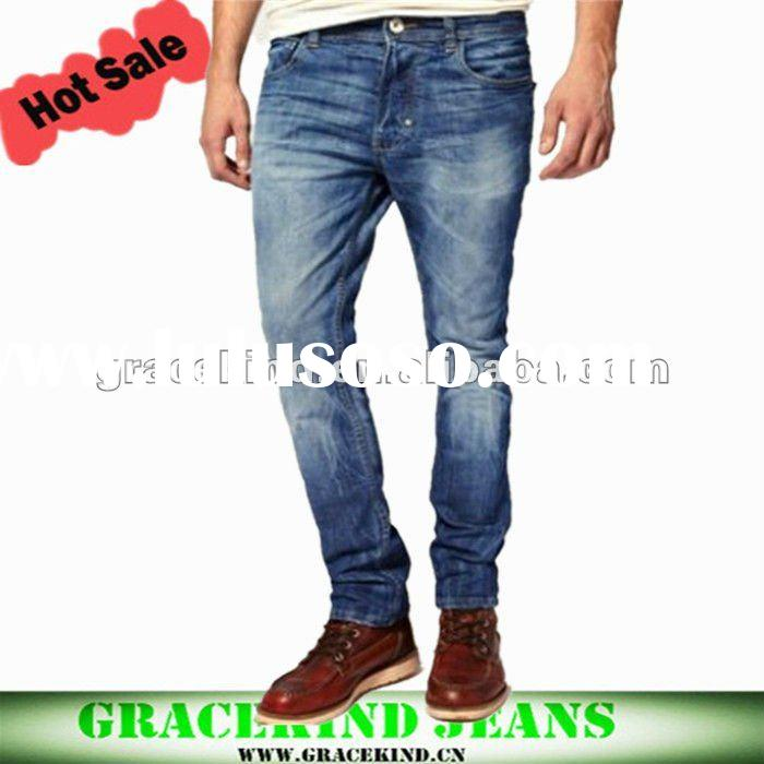 2012 New Style Skinny Fit Men Denim Jeans (GKC059)