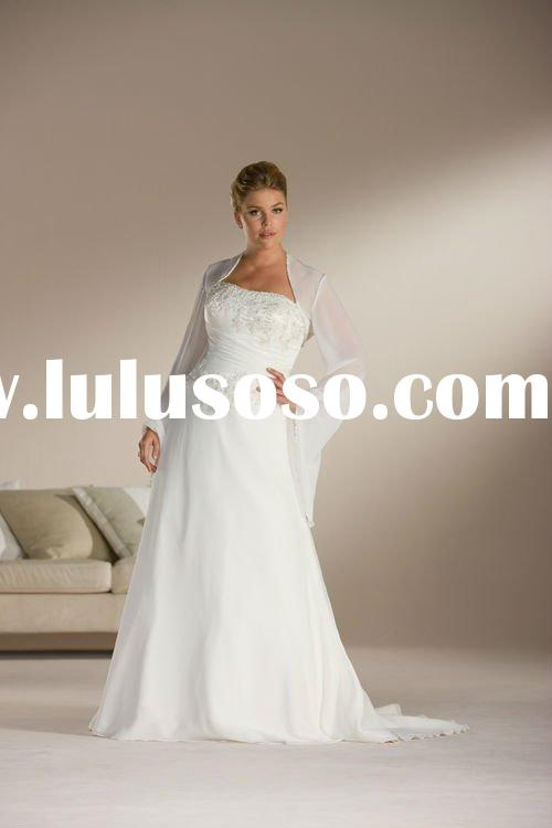 2012 Newest style long sleeve wedding gowns SFWD028UO