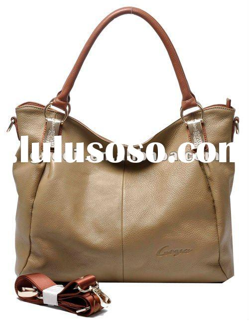 2012 Stylish ladies genuine leather handbags in good quality and fashion style