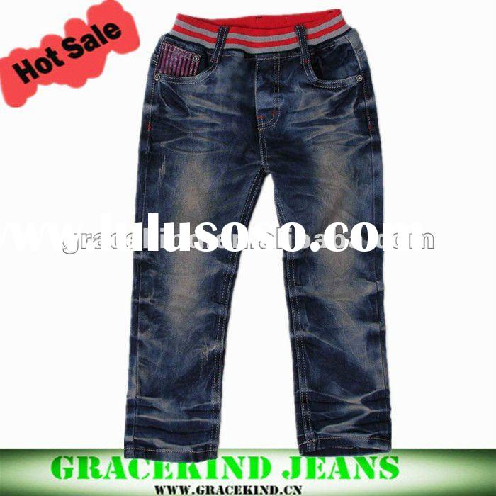 2012 Top Design Fashion Branded Child Jeans(GKCBY233)