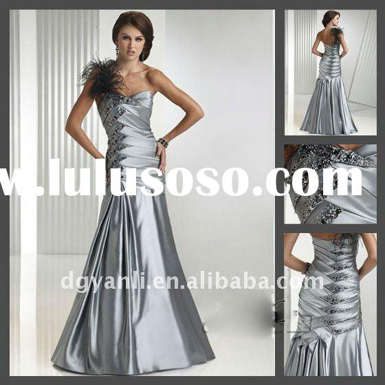 2012 Wholesale Fashion Elegant Floor-Length Bridal Evening Gown 00011