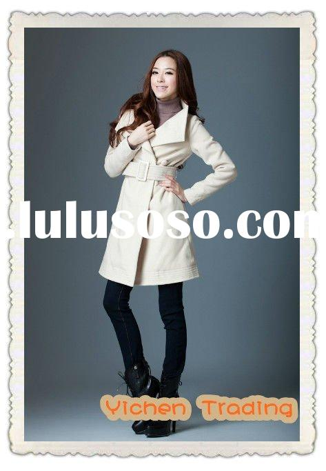 2012 fall and winter ladies wool dress coats