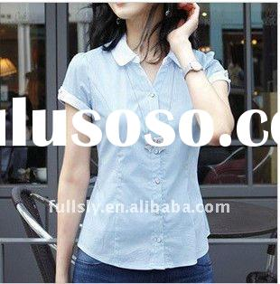 2012 fancy fashion ladies shirts