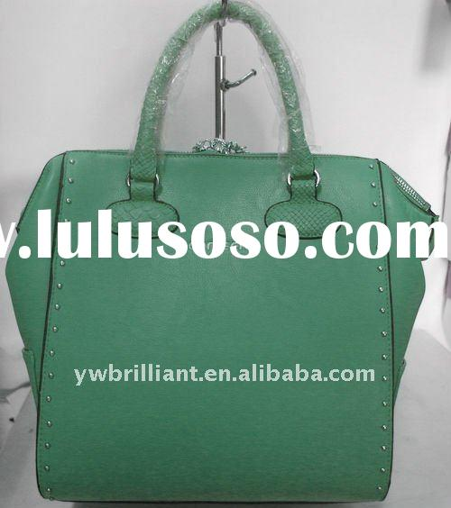 2012 fashion leather handbag,designer handbags imitation