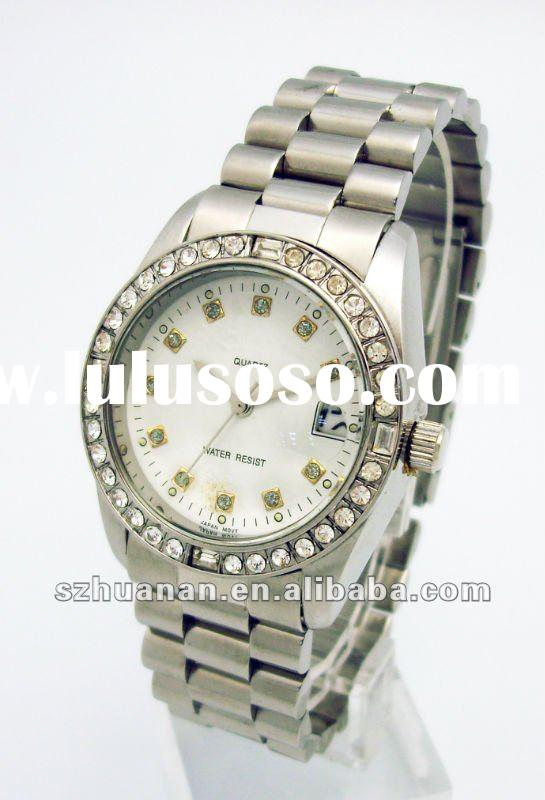 2012 fashion stainless steel watch