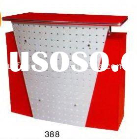 2012 hot sale new style beauty salon funiture fashion design reception counter 388