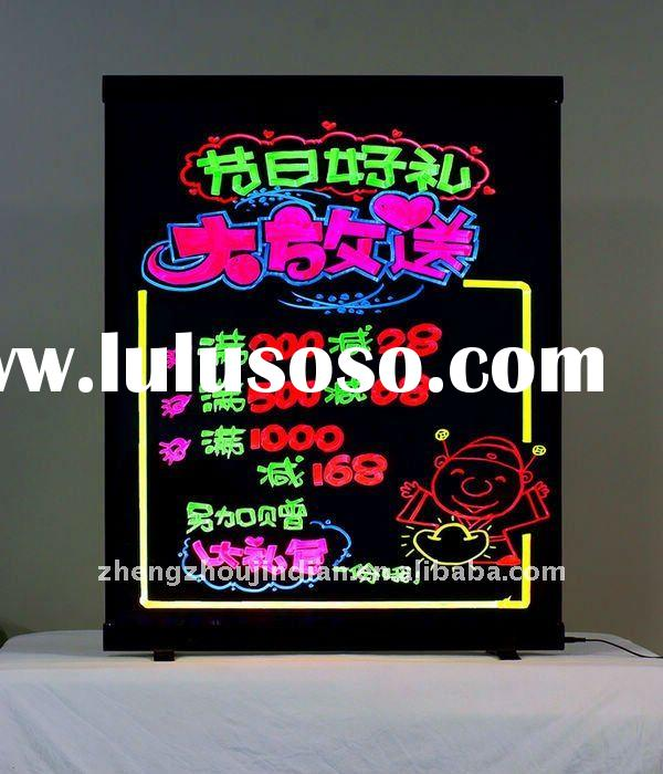 2012 most demanded advertising products,led writing board