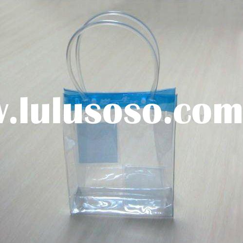 2012 most fashion designer clear pvc bags packaging