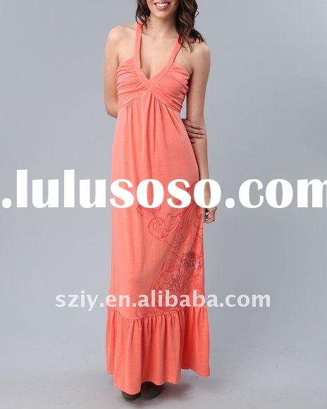 2012 new collection ladies maxi dress