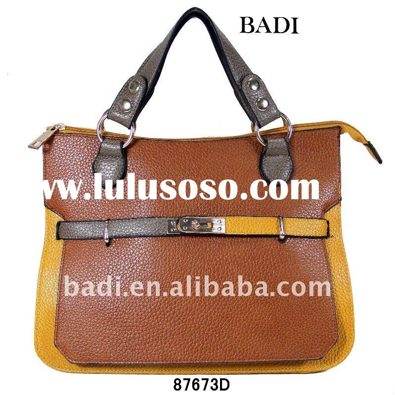 2012 new fashion hand bag leather