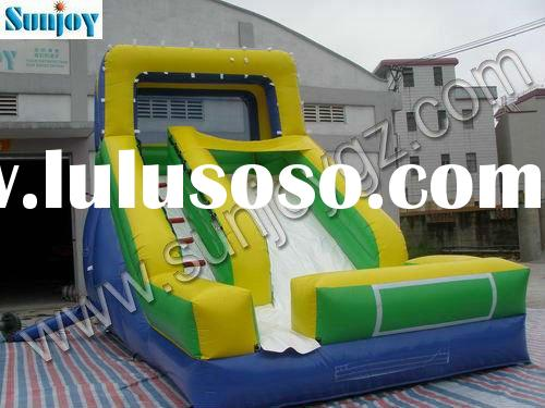 2012 new pvc inflatable water pool slide