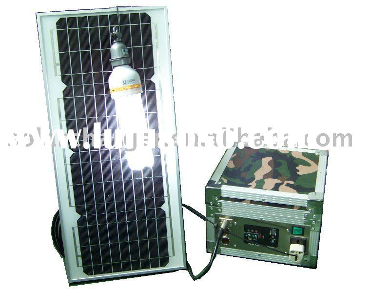 20W solar lighting system for home