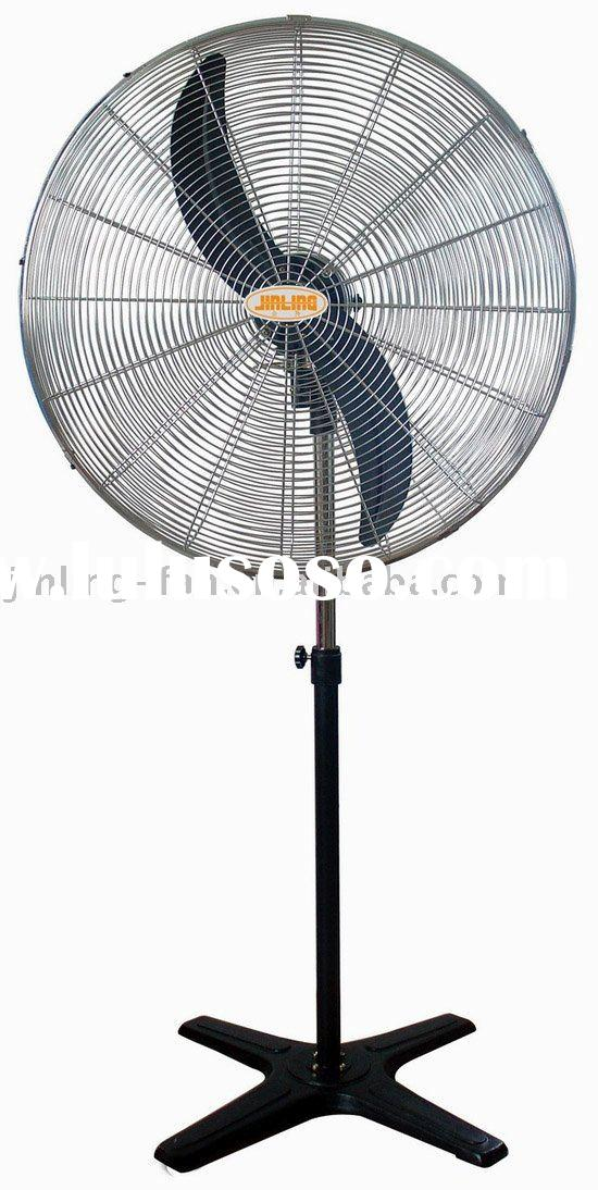 "20"",26"",30"" iron cross base Pedestal Fan"
