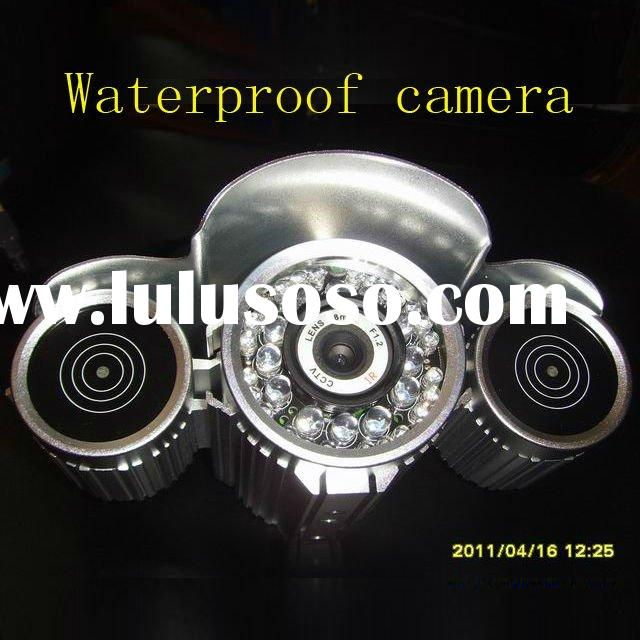 24-hour day/night IR supported waterproof do it yourself surveillance cameras/video server/telesurve