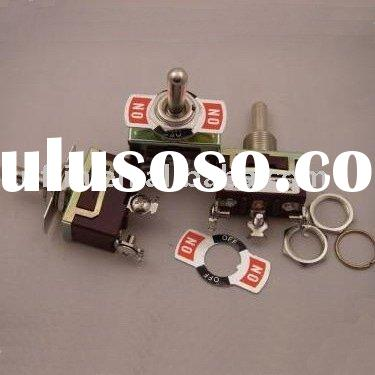 250V 15A,125V 20A ON/OFF/ON plate toggle switch/rocker switch