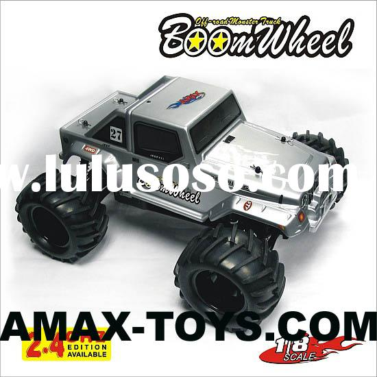 250-83 1/8 rc gas car, nitro powered 4WD off-road toy rc truck - Boom Wheel