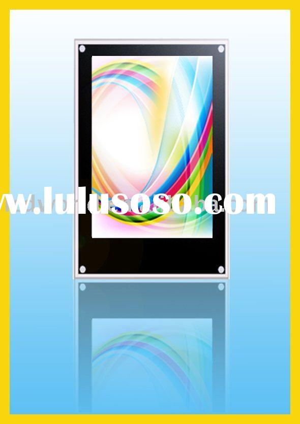 26 inch Vertical Wall Mount Touch Screen Advertising Monitor