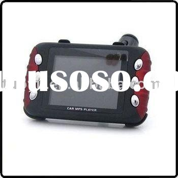 2.4 inch Screen Car MP4 MP5 Player with FM Transmitter support SD MMC Card