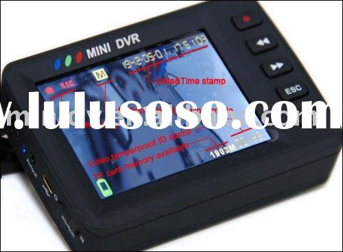 2.5 Inch LCD Mini Portable High-speed DVR Camera Video Recorder Motion detection with TF card