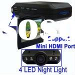 2.5 inch TFT Screen HD Vehicle Car Camera DVR Road Video Recorder Cycle Recording DV With 4 LED Nigh