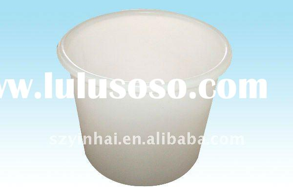 300L round clear plastic storage containers