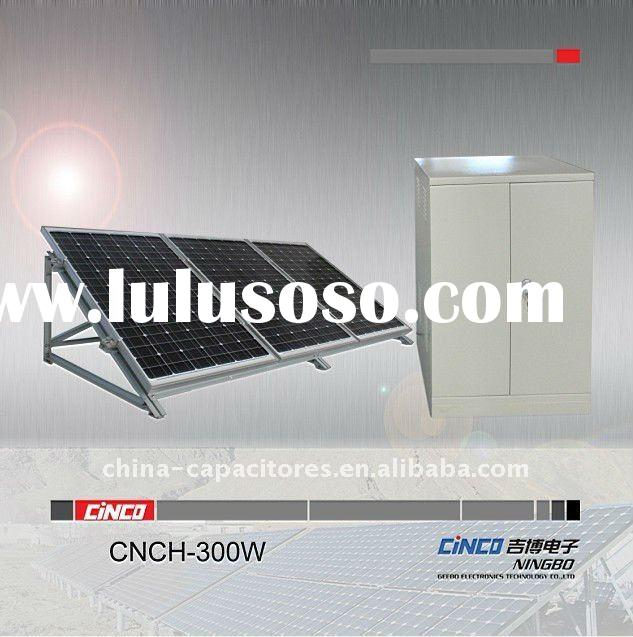 300w,500W,1KW solar home system(solar panel+inverter&controller+aluminum mounting)