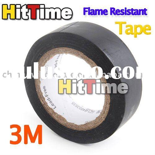 3M High Temperature Flame Resistant Adhesive Tape Black Wholesale