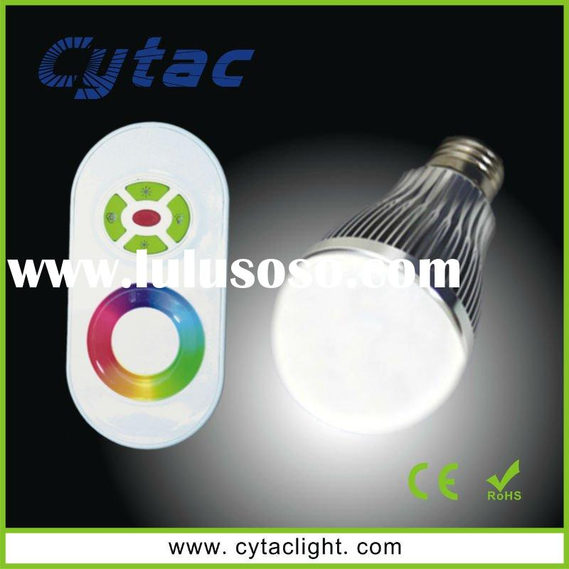 3W RGB dimmable LED bulb