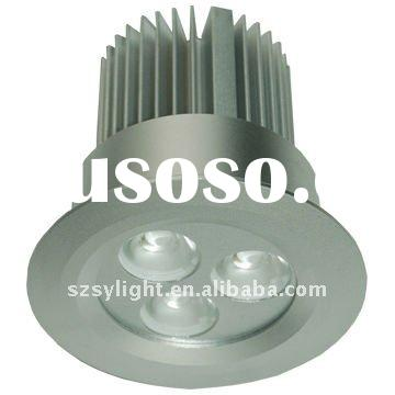 3X3W high power dimmable Cree led downlight