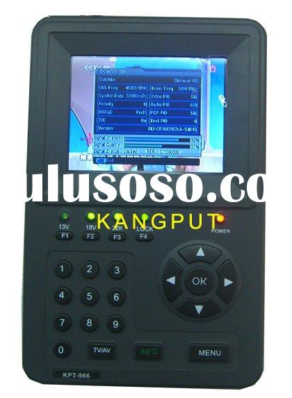 3.5 Inch TFT LED handheld monitor/satellite finder meter KPT-966