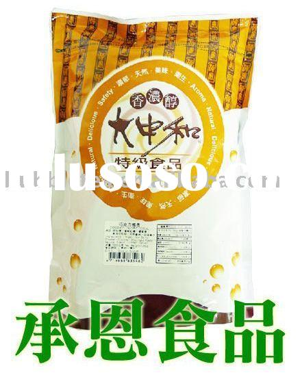 4009-4 2 in 1 Instant Chocolate Flavor Powder with Wheat for Bubble Tea or Drinks