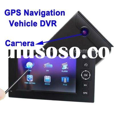 4.3 inch Touch Screen Vehicle DVR Digital Video Recorder GPS Navigation