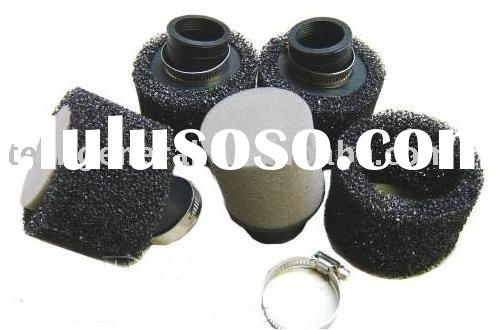 4 stroke YY50QT-6 gas scooter 38mm 30 Degree Afro Foam Air Filter