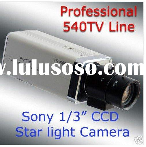 "540 TV line Sony 1/3"" Color CCD Star light dsp color ccd camera"