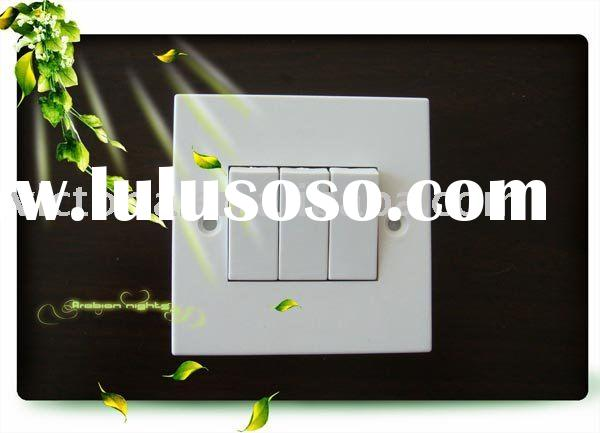 6A Switch 3 Gang 2 Way light switch plates