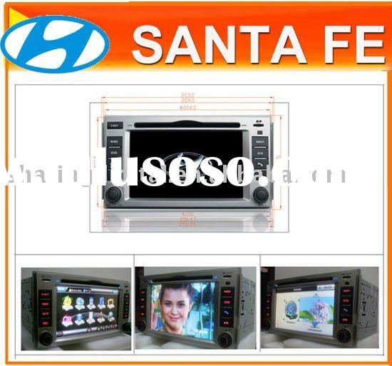 6.2 inch Special Car DVD Player with GPS for Hyundai Santa fe