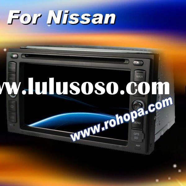 6.2inch Car auto nissan qashqai radio dvd player gps navigation system for xtrail maxima pathfinder