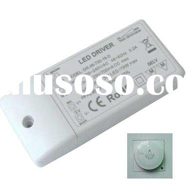 6*3w triac dimmable led driver