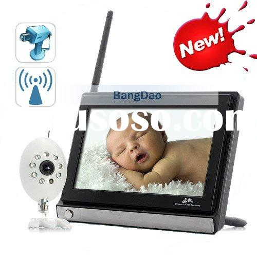 7 inch Night Vision Wireless Baby Monitor with best price and quality