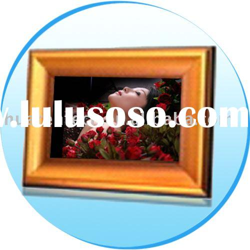 7 inch TFT LCD (16:9) Digital Photo Frame & Card Reader & USB