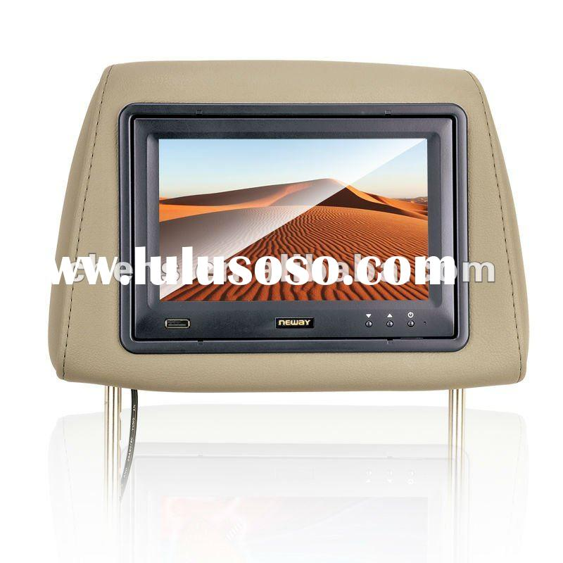 7 inch Touchscreen Headrest Car/Taxi/Cab USB Monitor