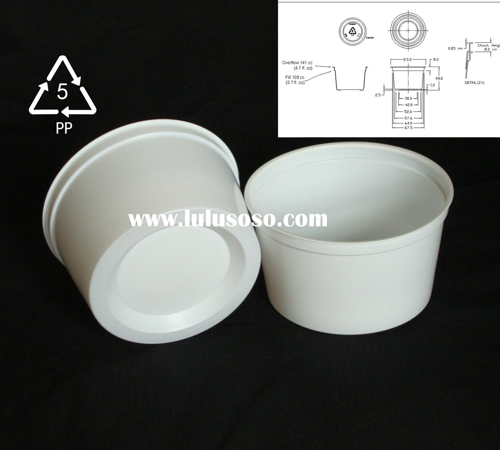 7 oz pp plastic ice cream cup