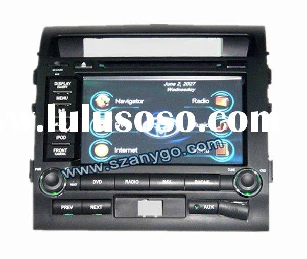 """8"""" Car DVD Players Touch Screen with GPS Bluetooth DVD Ipod BT TV tuner USB2.0"""